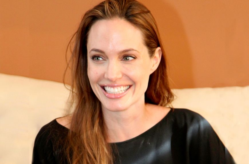 Thumbnail for Want Angelina Jolie's flawless complexion? Her derm-approved skin-care routine is *super* simple