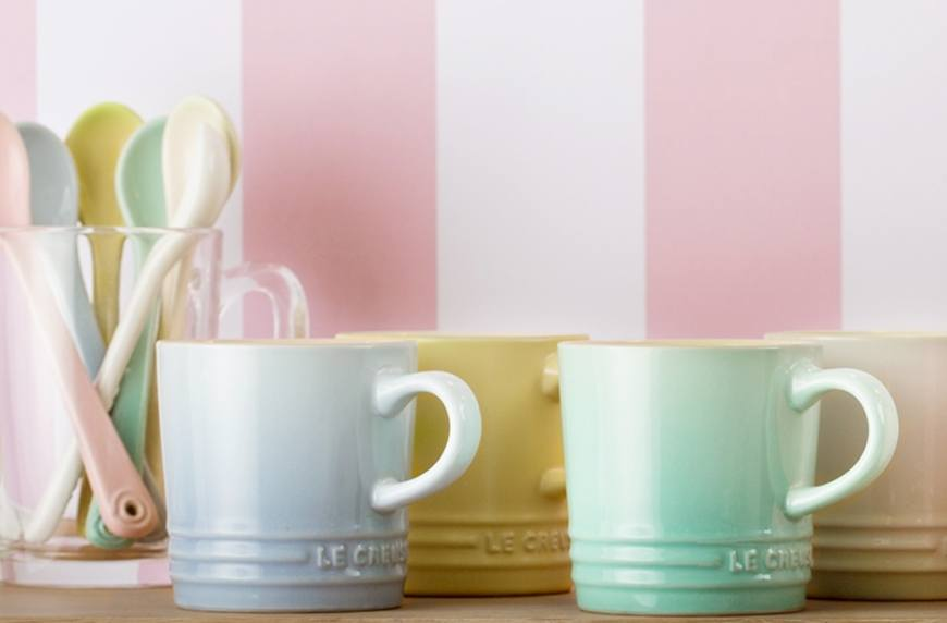 Thumbnail for Le Creuset's New (Affordable!) Collection Will Make Your Bowls of Summer Nice Cream Très Chic