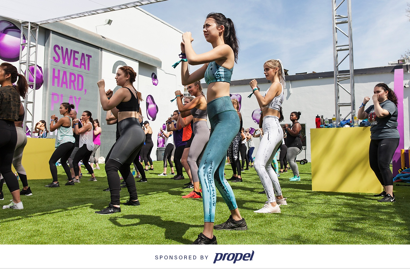 Fitness festivals are the new music festivals—and this event series is here to prove it