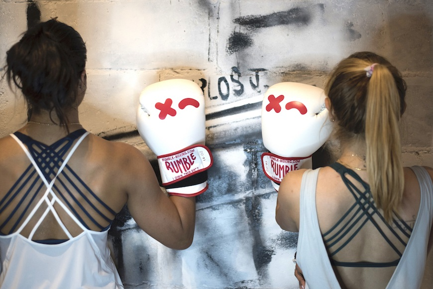 The next gen of wellness includes boxing gloves, sweat sisters, and serious vibes