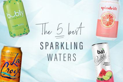 The 5 best, healthiest sparkling waters