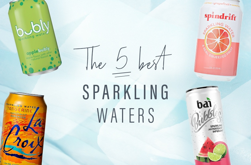 5 best, healthiest sparkling waters | Well+Good