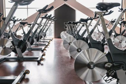 Using your abs can reduce spin class butt pain