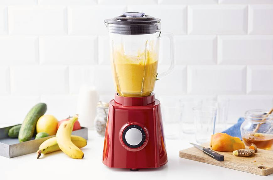 Thumbnail for Remove turmeric stains from your blender with this hack that requires zero work