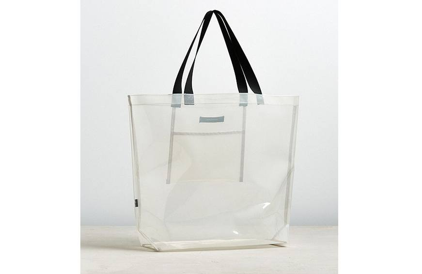 Urban Outiftters Clear Tote Bag, $25 cropped