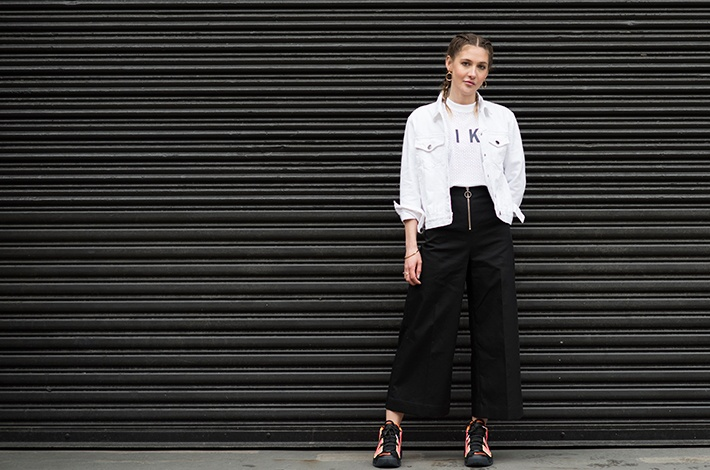 The street style uniform that helped this NYC cool girl nail her dream job