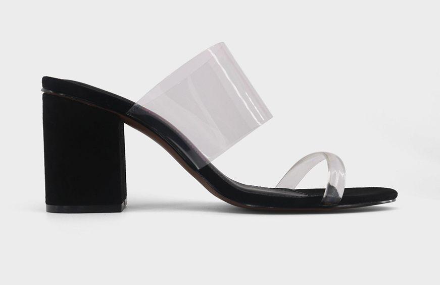 Maison Margiela Perspex And Vinyl Waist Belt, $480 cropped