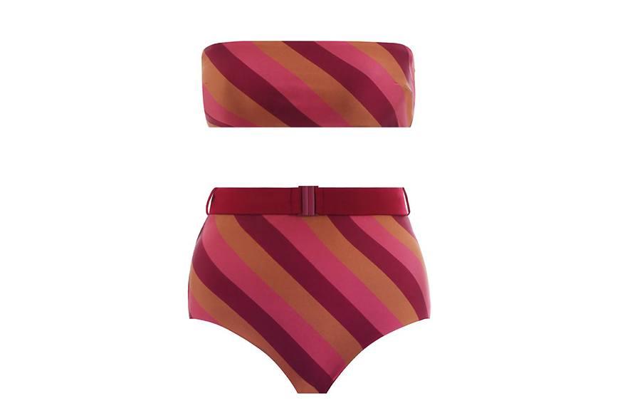 Zimmermann Kali Belted Bikini, $245