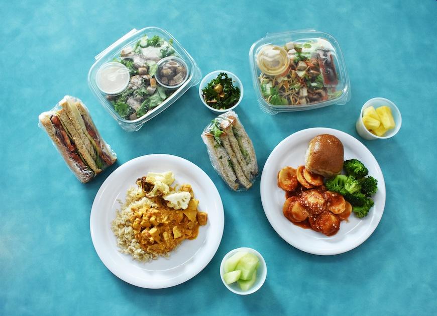 Brigaid school lunch