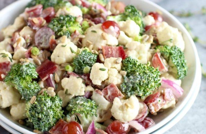 broccili bacon salad