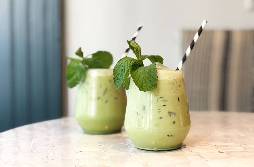 Add this energizing matcha margarita to your summer must-make list