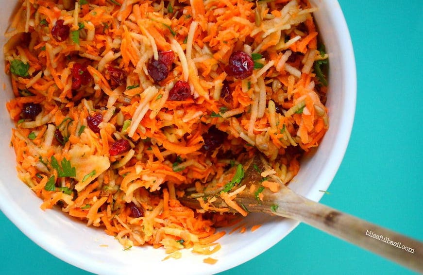 carrot apple slaw ACV