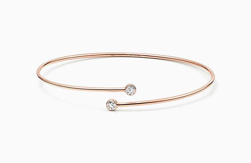 elsa-peretti for tiffany co diamond-hoop-bangle