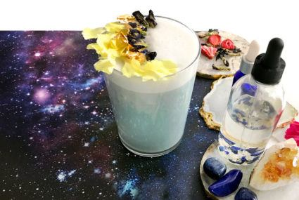 Set your intention for the astrological season with this Gemini latte recipe