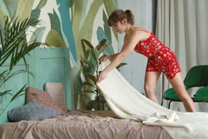 This is *exactly* how often you should be washing your sheets this spring and summer