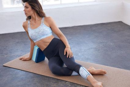 Jessica Biel shares how 20 minutes of daily yoga helps her manage stress