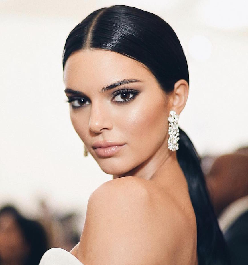 Thumbnail for Kendall Jenner's sleek Met Gala pony proves gym hair works anywhere