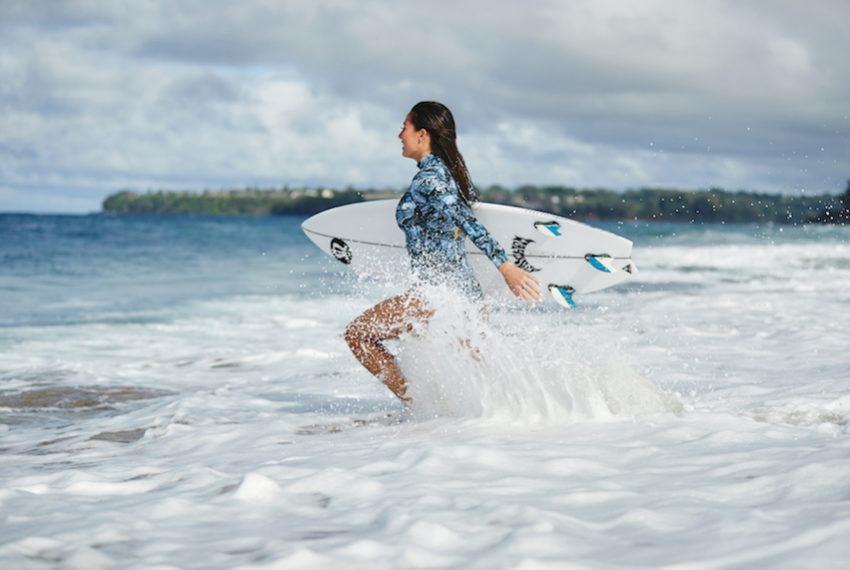 Ride summer waves in Lululemon's new pro-surfer-designed swimwear