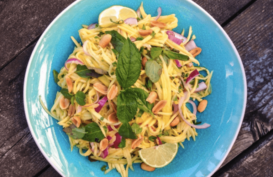 mango thai salad