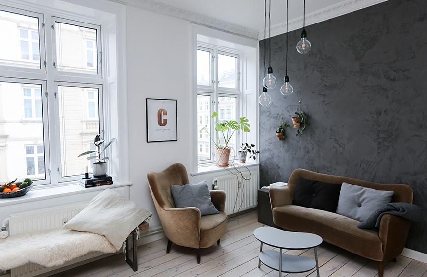 Living room interior shot