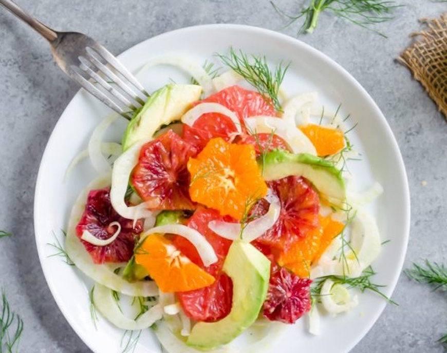 no bloat citrus salad
