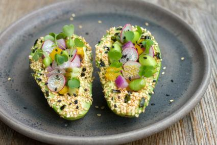 How to make the prettiest avocado boats ever