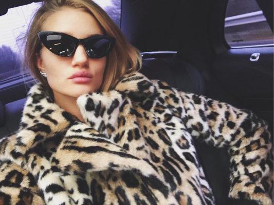 Why supermodel Rosie Huntington-Whiteley doesn't believe in beauty rules