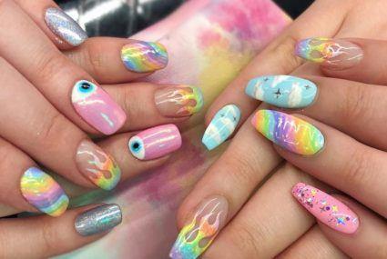 The latest manicure craze is en pointe for barre class