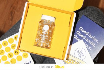 Ritual multivitamins monthly subscription box