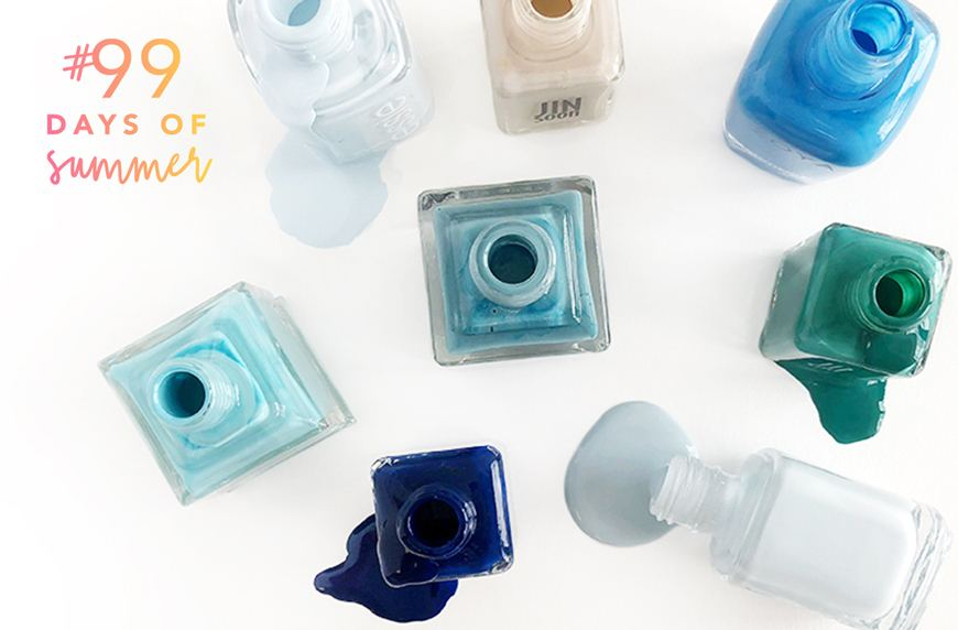 Thumbnail for Summer's biggest nail polish trend is pretty much just another day at the beach