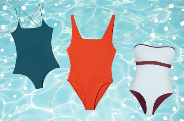 12 Perfectly Fitted, One-Piece Swimsuits for Minimalist Tastes