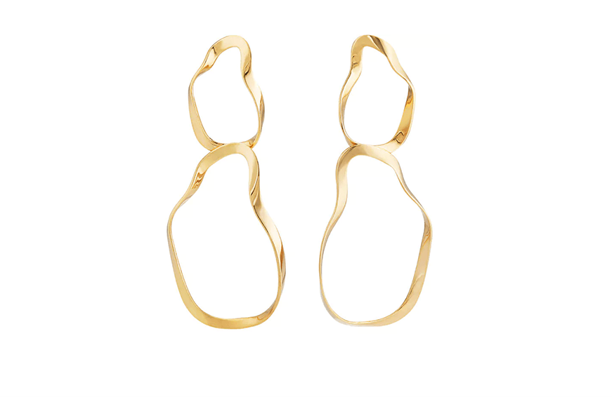 Agmes Viviane Earrings, $610