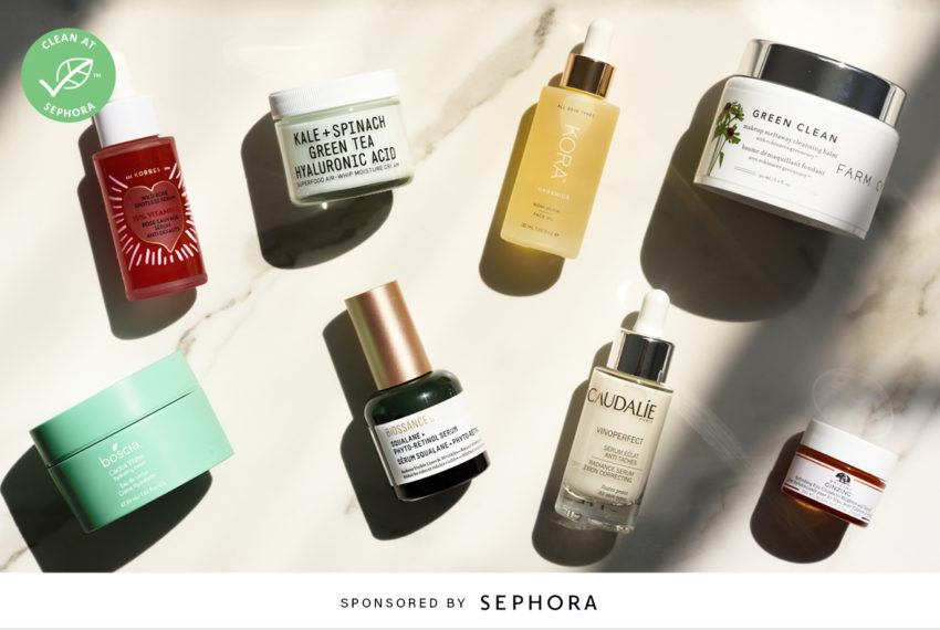 Sephora is defining clean beauty—and here's how your skin can benefit