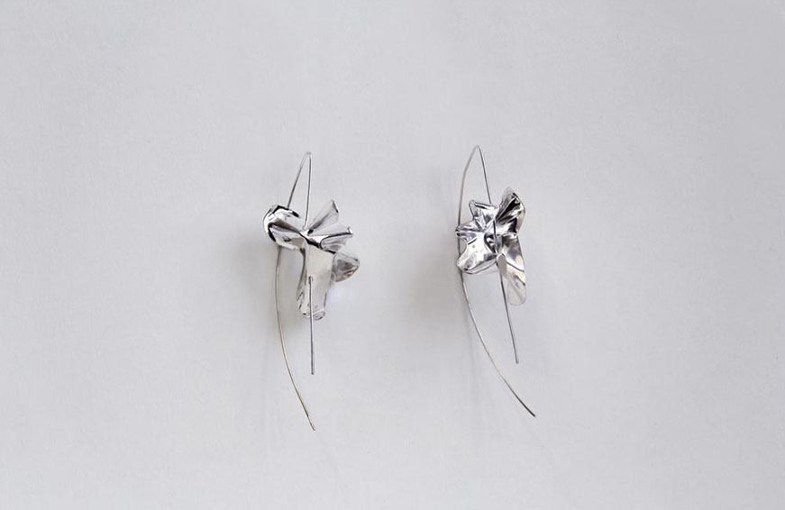Closer By Wwake Lancet Earrings, $246
