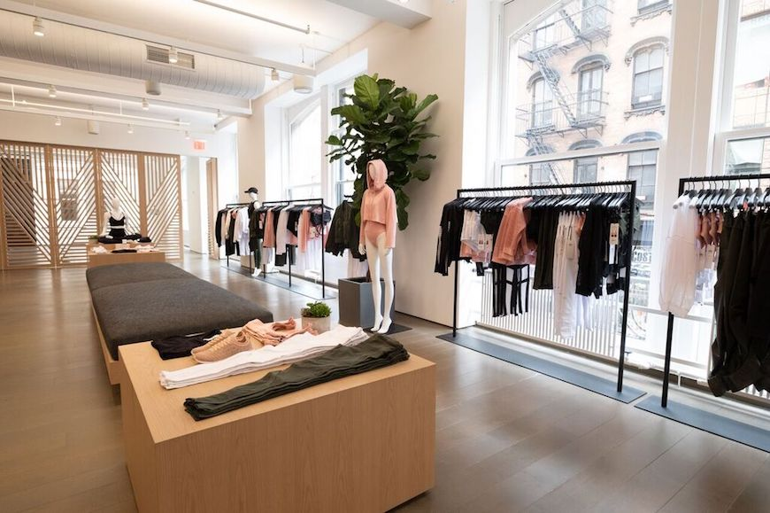alo yoga store opening new york city