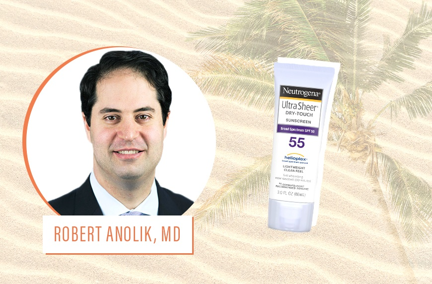 dermatologists at the beach
