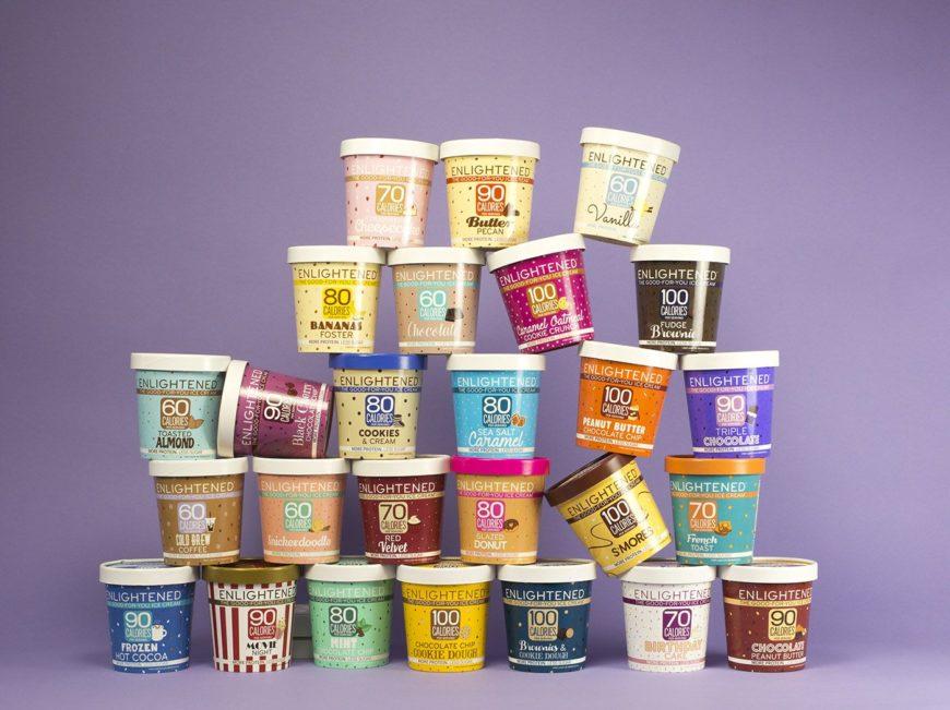 Enlightened ice cream variety