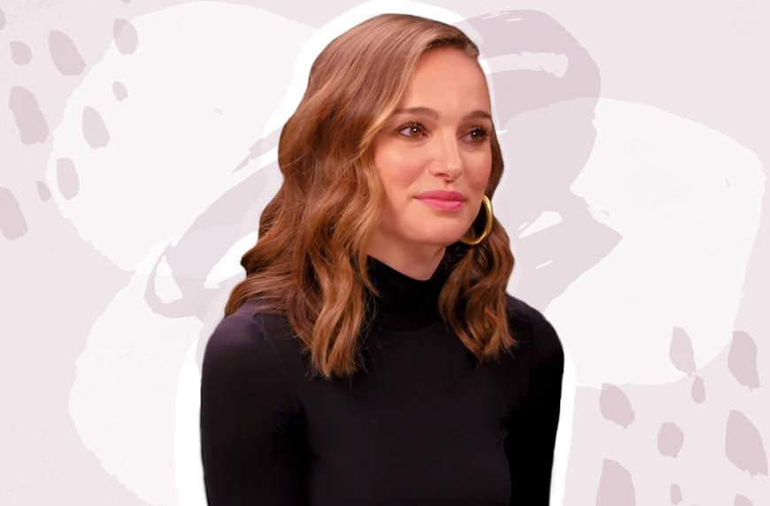 Thumbnail for Natalie Portman dropped 4 healthy truth bombs while eating so-spicy-she-cried vegan wings
