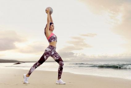 Jenna Dewan designs activewear for Danskin