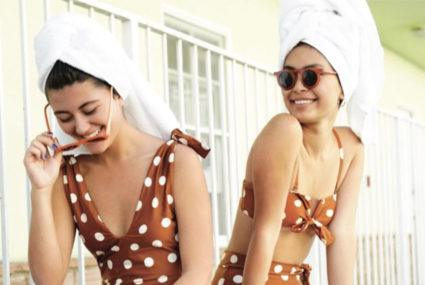 12 polka dot swimsuits putting a modern twist on the retro print
