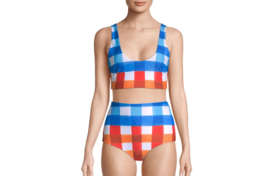 Mara Hoffman Lira Bikini Top, $145