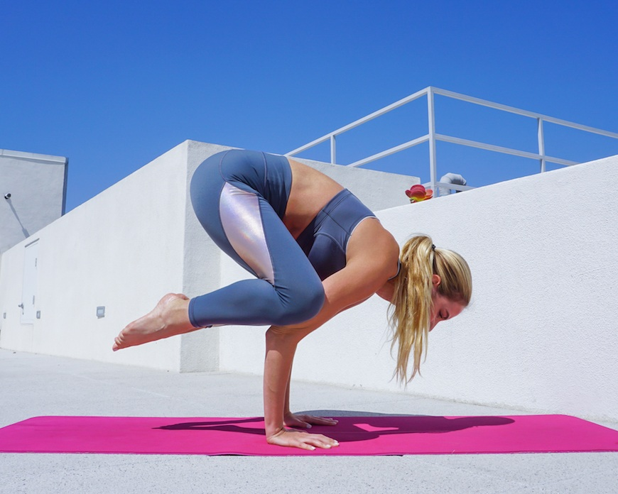 This simple hack will help you *finally* master crow pose