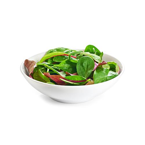 spring mix greens