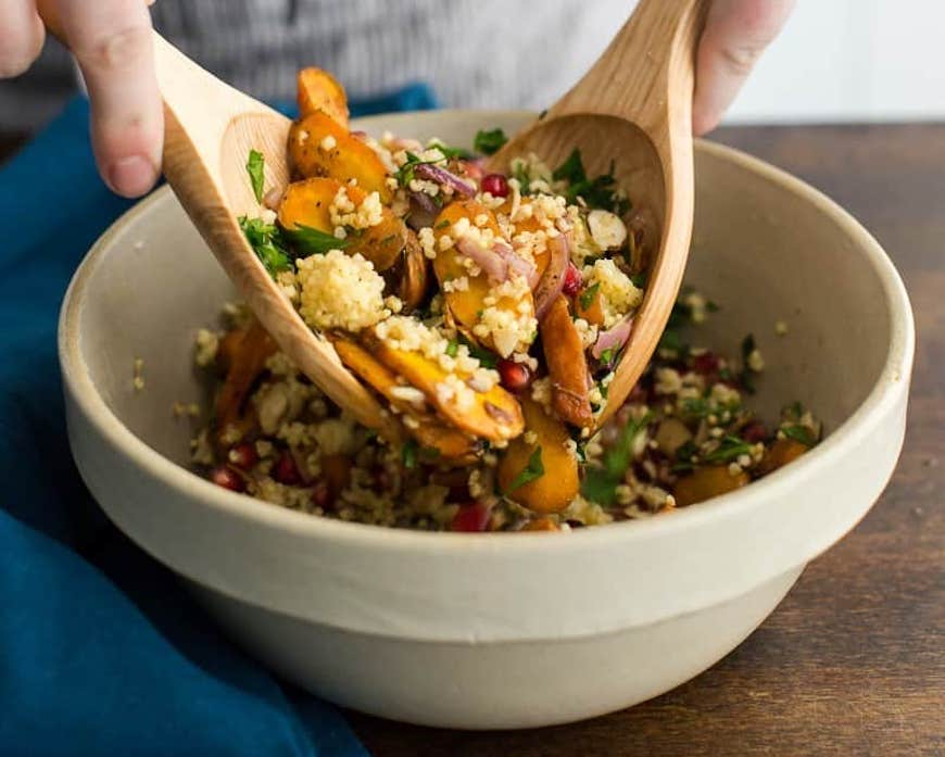 moroccan millet salad