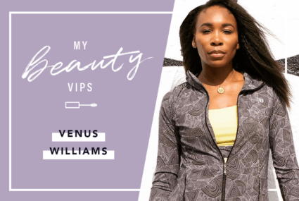 Venus Williams says that *this* is the one eyeliner that doesn't budge on the court