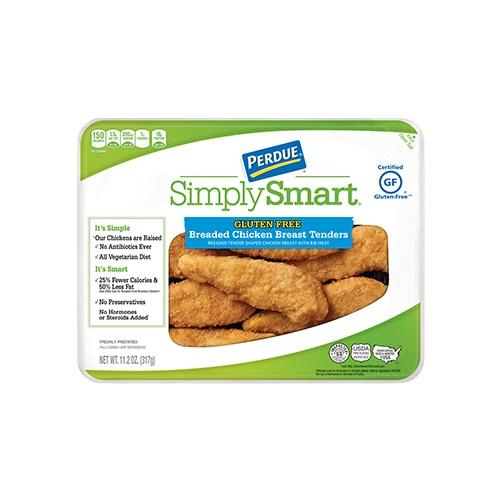 PERDUE® SIMPLY SMART® Gluten Free Breaded Chicken Breast Tenders (11.2 Oz.)