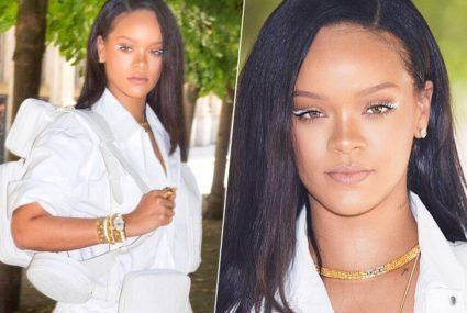 How to pull off the white-eyeliner look that Rihanna is obsessed with