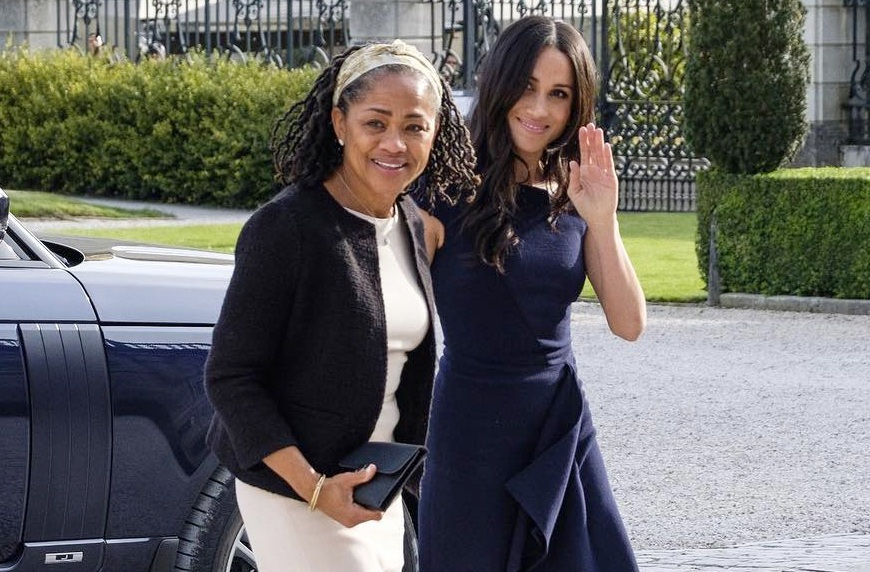 Angelina Jolie channels Meghan's royal style at London service