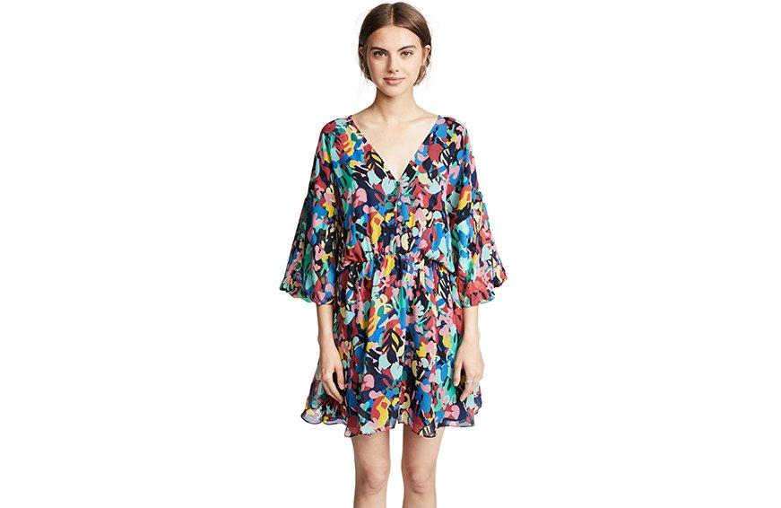 Saloni Nikki Mini Dress, $550