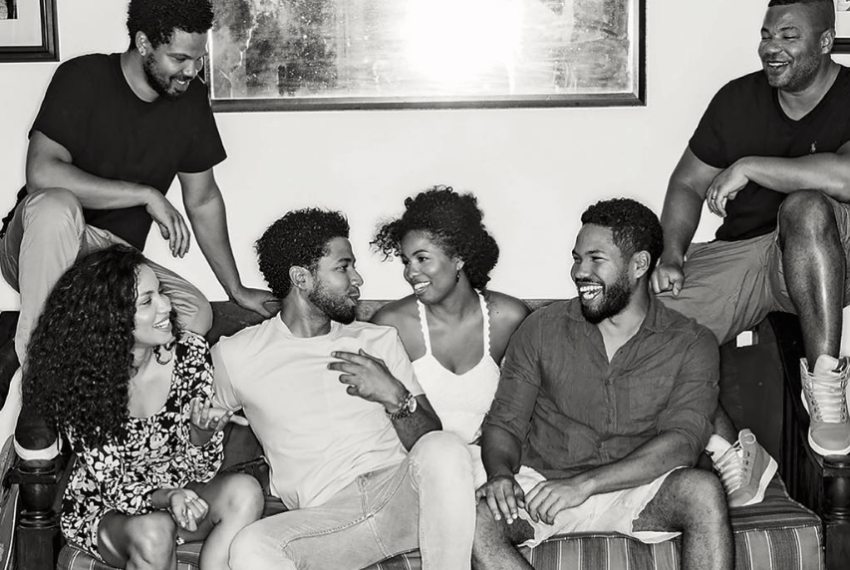 The Smollett siblings share their family recipe for healthy eggplant parm rounds